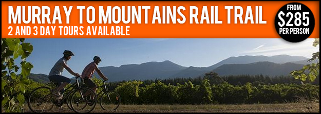 Murray to Mountains Rail Trail Tour