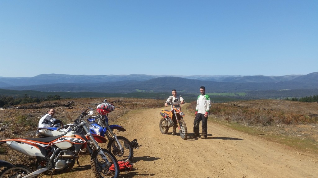Toolangi Dirt Bike Ride