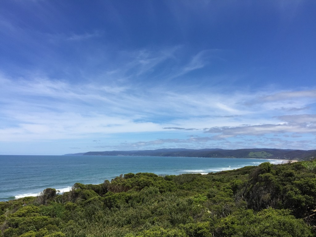 View towards Lorne