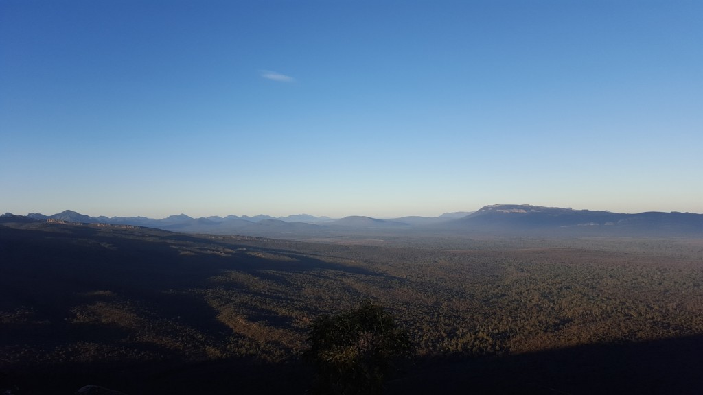 Looking out from The Balconies - Grampians