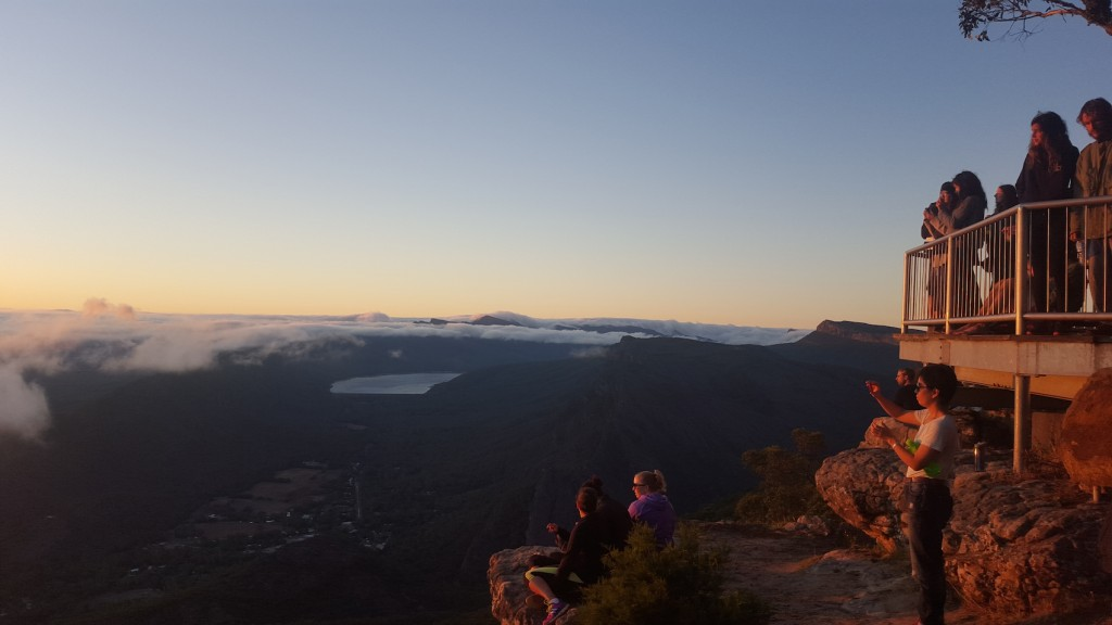 Boroka Lookout at the Grampians