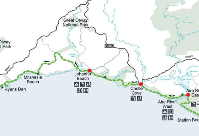 Great Ocean Walk Map